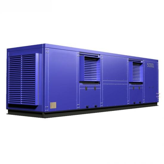 Large storage capacity atmospheric water generator